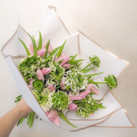 Тюльпаны в кружеве