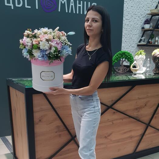 Бомбезная коробка цветов 👍🔥