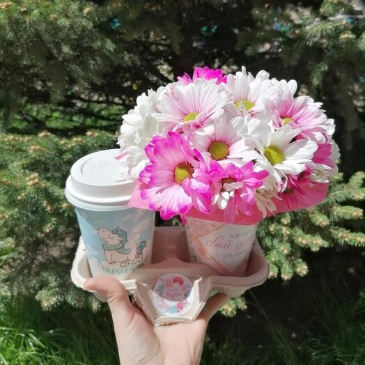 Кофейный комплимент розовый