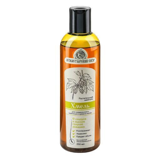 Клеона - Натуральный шампунь «Хмель» для нормальных, склонных к сухости волос 250 мл