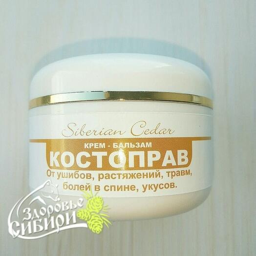 Крем-бальзам живичный Костоправ, 100 мл
