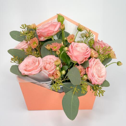 Осень в розовых тонах (коробка)