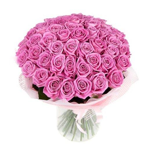 Букет 49 роз: букеты цветов на заказ Flowwow