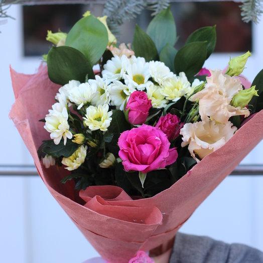 Красивый сюрприз: букеты цветов на заказ Flowwow