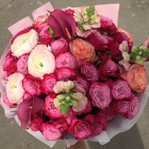 Изысканно утонченно стильно: букеты цветов на заказ Flowwow