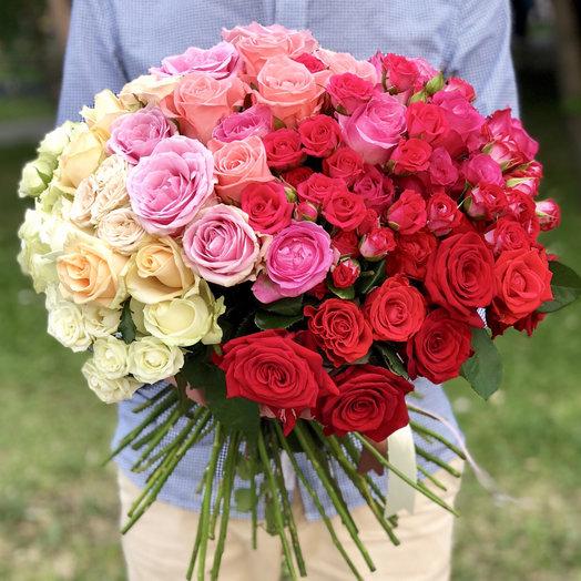 Gradient   1: букеты цветов на заказ Flowwow