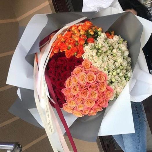 Калейдоскоп : букеты цветов на заказ Flowwow