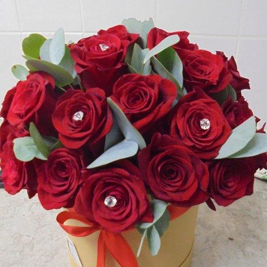 Алое пламя: букеты цветов на заказ Flowwow