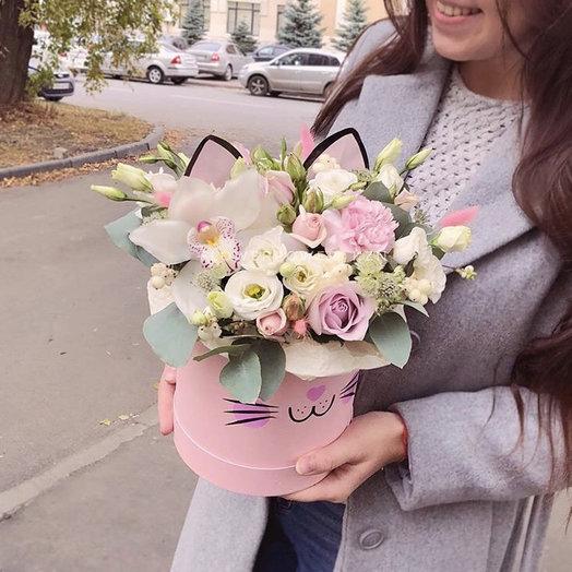 Кисуня: букеты цветов на заказ Flowwow