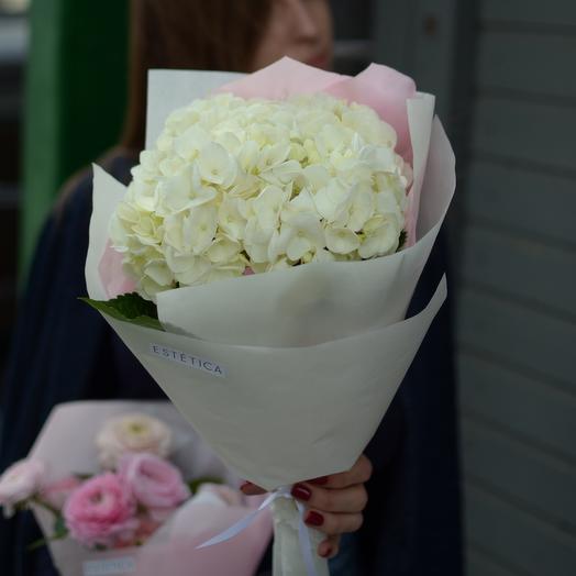 Милая охапка гортензии: букеты цветов на заказ Flowwow