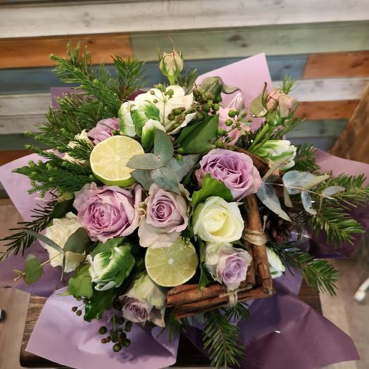 Букет бодрость: букеты цветов на заказ Flowwow