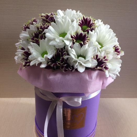 Яркие ромашки: букеты цветов на заказ Flowwow