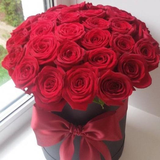 """Коробка """"Страсть"""": букеты цветов на заказ Flowwow"""