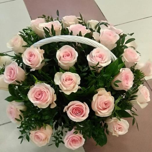 Корзина 35 роз