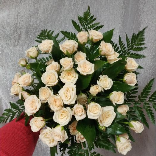 Кустовая роза 15