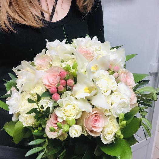 Букет невесты «Verona»: букеты цветов на заказ Flowwow