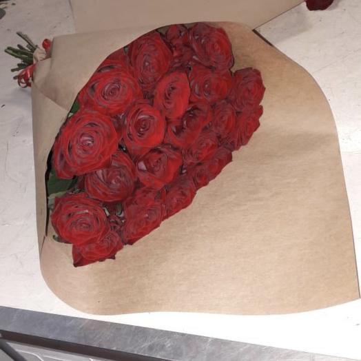 21 роза короткие букет: букеты цветов на заказ Flowwow
