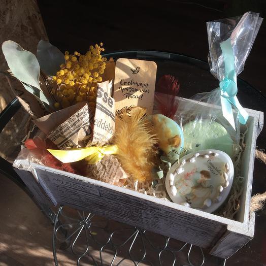 Пасхальный набор: букеты цветов на заказ Flowwow