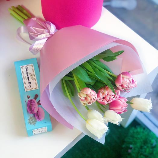 Набор 3: букеты цветов на заказ Flowwow