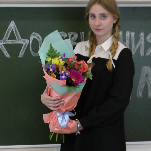 Букет для преподавателя 7: букеты цветов на заказ Flowwow