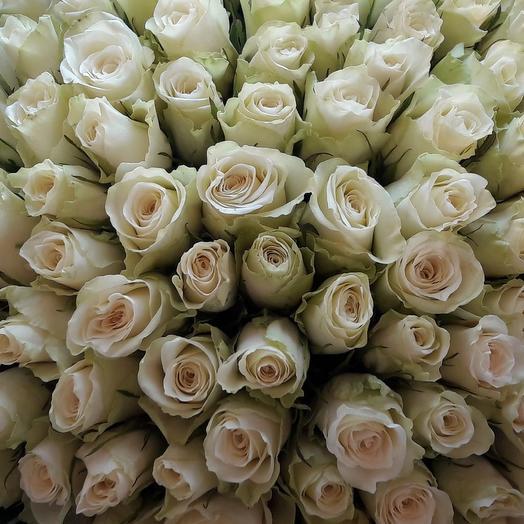 Ледяное сердце: букеты цветов на заказ Flowwow