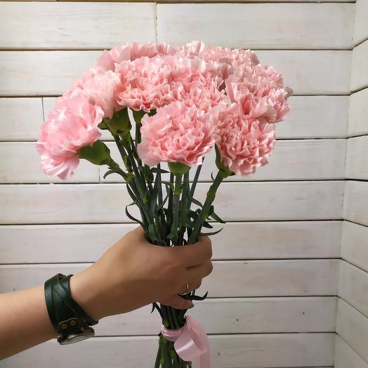 Гвоздика 15: букеты цветов на заказ Flowwow