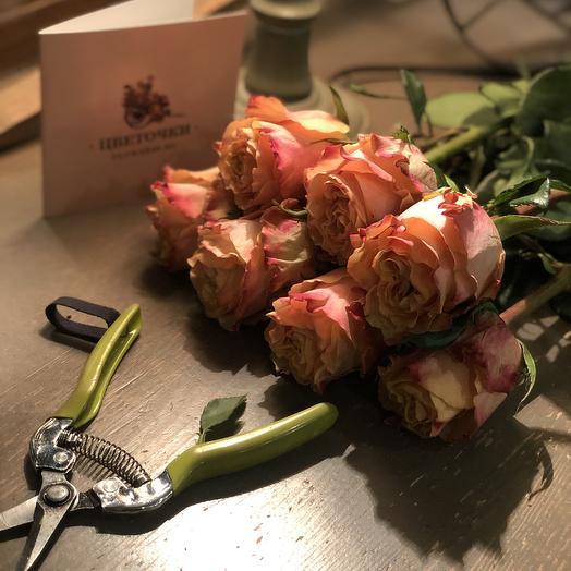 """Букет из роз """"Мамба """""""