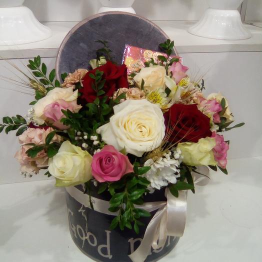 Улыбнись): букеты цветов на заказ Flowwow