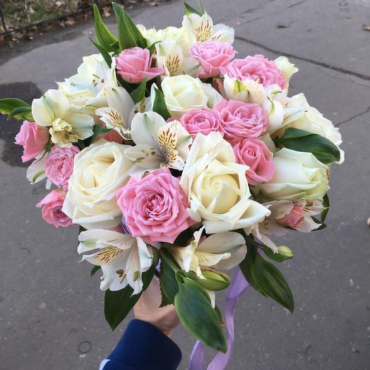 Нежная коробка: букеты цветов на заказ Flowwow