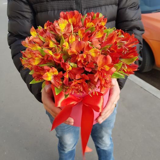 Огенный шарм: букеты цветов на заказ Flowwow