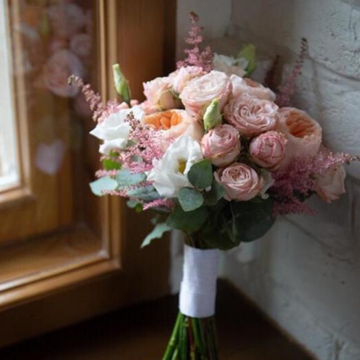 """Свадебный букет """"Гармоничный аккорд"""": букеты цветов на заказ Flowwow"""