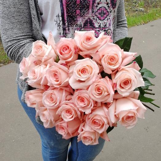 Букет 19 роз: букеты цветов на заказ Flowwow