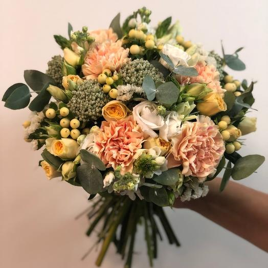 Свадебный 1: букеты цветов на заказ Flowwow