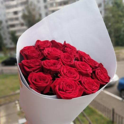 19 red roses: flowers to order Flowwow