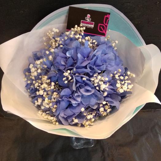 Букет гортензия: букеты цветов на заказ Flowwow