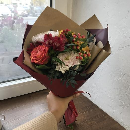 2^ Осенний букет 🍁🍂: букеты цветов на заказ Flowwow