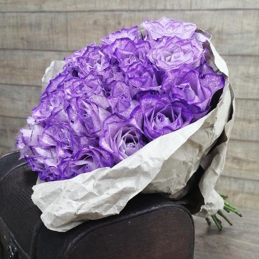 Необычная роза для необыкновенной девушки: букеты цветов на заказ Flowwow