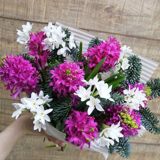 Аромат весны для солнечного настроения: букеты цветов на заказ Flowwow