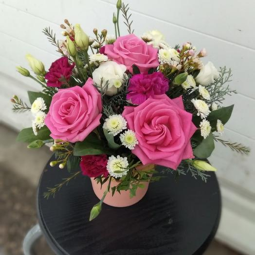 Компазиция из цветов