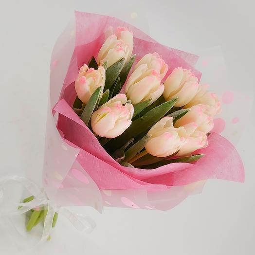Заснеженные тюльпаны 11