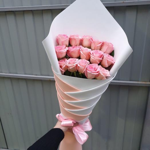 Букет «косичка»: букеты цветов на заказ Flowwow