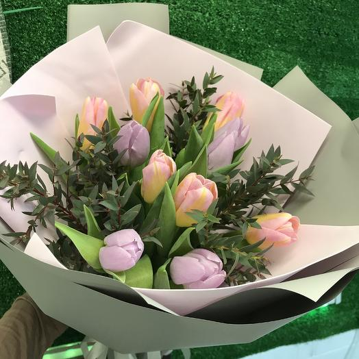 Tulips: flowers to order Flowwow