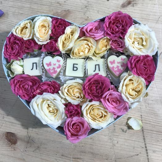 Люблю: букеты цветов на заказ Flowwow
