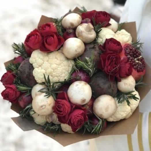Овощные розы