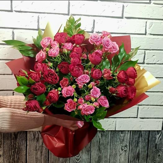 Букет Пионовидный рай: букеты цветов на заказ Flowwow