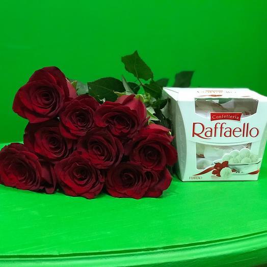 9 Роз и раффаэлло