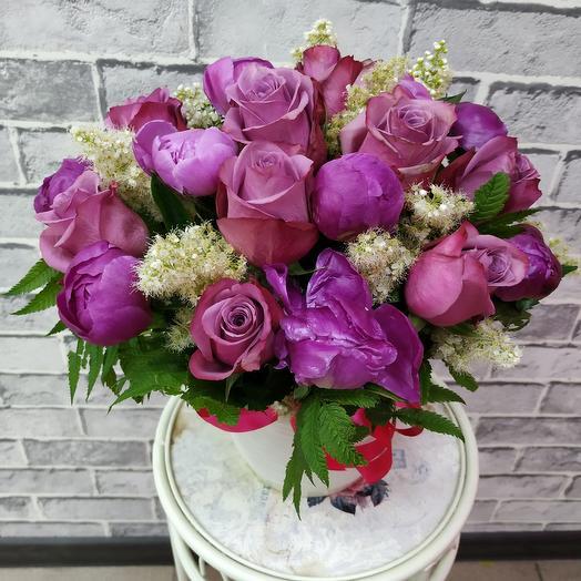 Мадмуазель: букеты цветов на заказ Flowwow