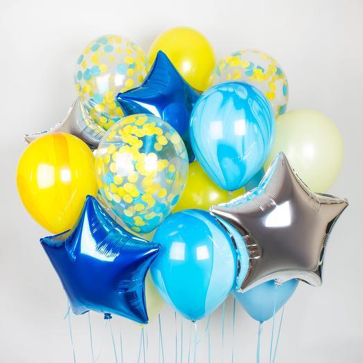 Набор шаров «Голубая лагуна»