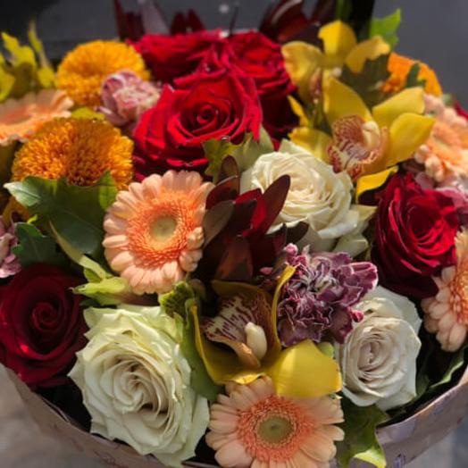 Букет цветов 376