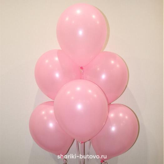 Воздушный шар «Розовый, пастель»